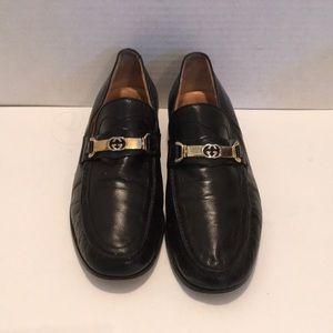 GUCCI Men's VINTAGE BLACK Loafer EU 41.5 M
